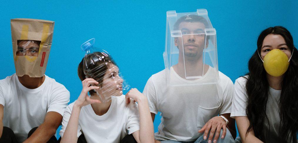 People Wearing Diy Masks 3951628