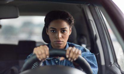 facial expression, negativity, stress and traffic jams